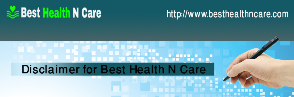 Disclaimer for Best Health N Care